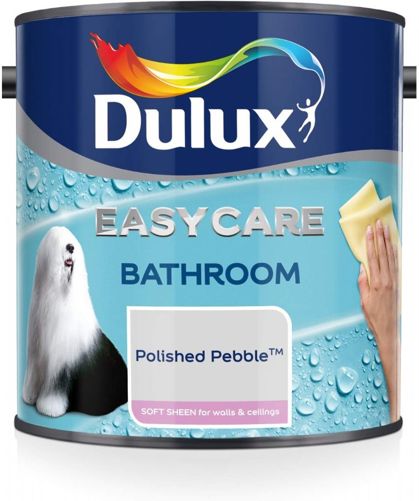Dulux Easycare Bathroom Soft Sheen Emulsion - Polished Pebble